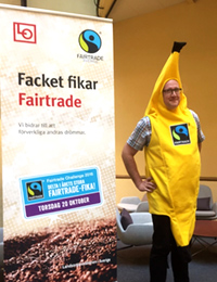 Anders Larsson som Fairtradebanan