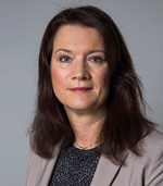 Ann Linde, Sweden's Minister for EU and Trade